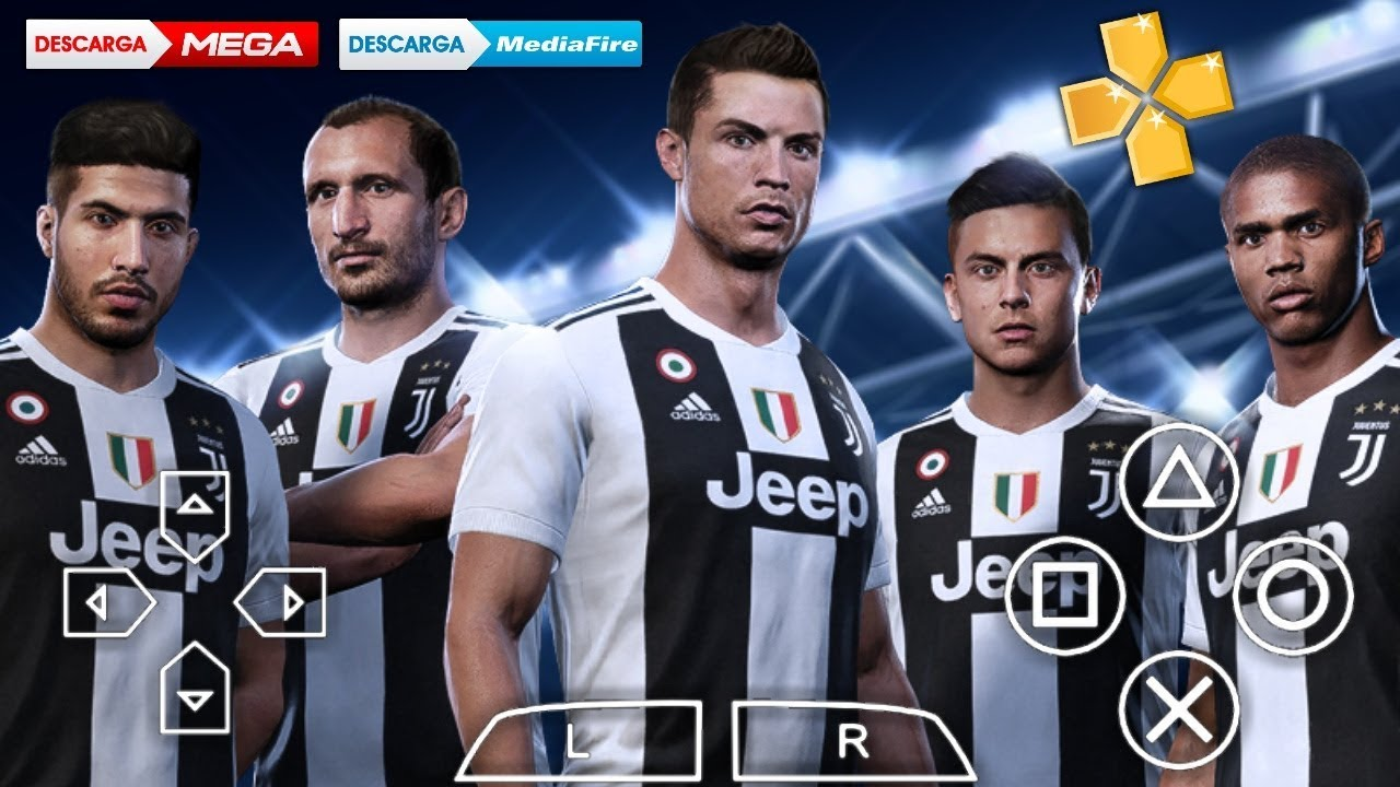 PES 2019 CAMERA PS4 PPSSPP/ANDROID DOWNLOAD