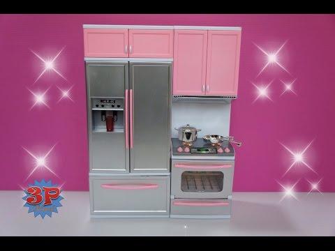 Barbie Kitchen,รีวิวของเล่นใหม่,ห้องครัวบาร์บี้,