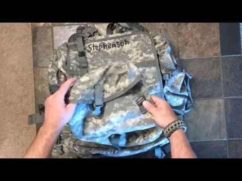Molle US Military Large RuckSack Backpack Overview