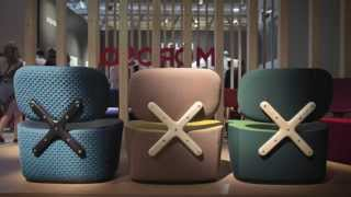 "Richard Hutten's X-chair For Moroso Is ""actually Quite Complex"""