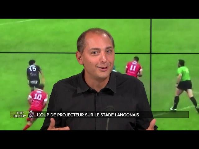 Top Rugby - avec Julien Perrot et Philippe Etchegaray du Stade Langonnais