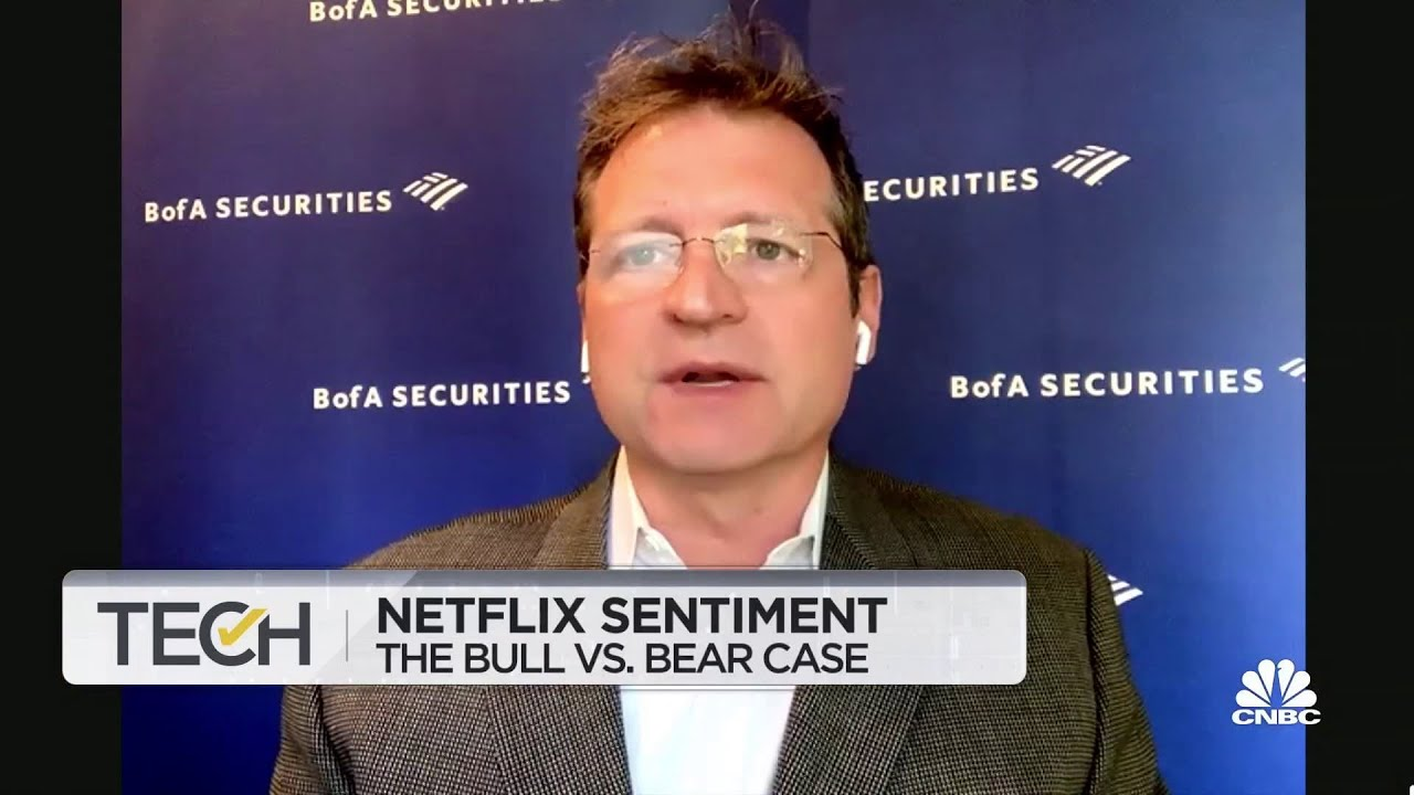 BofA's Nat Schindler on Netflix democratizing the production of content around the world - CNBC Television