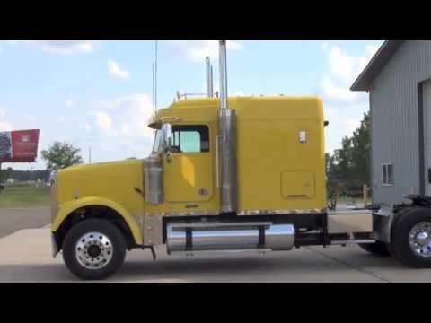 2008 Freightliner Classic Flat Top Sleeper Youtube