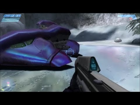 Halo 1 - Driving The Wraith As An Elite (REVISITED)