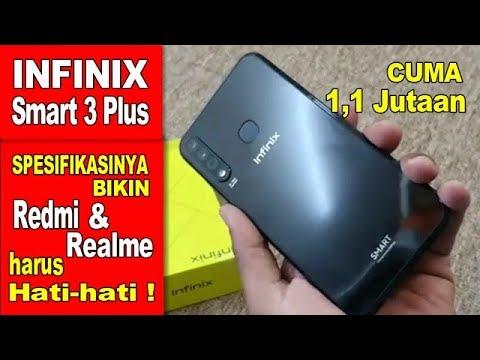 Infinix Smart 3 Plus Indonesia Cuma 1 1 Jutaan Fitur Melimpah