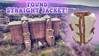 Found Straight Jacket in ABANDONED Mental Prison