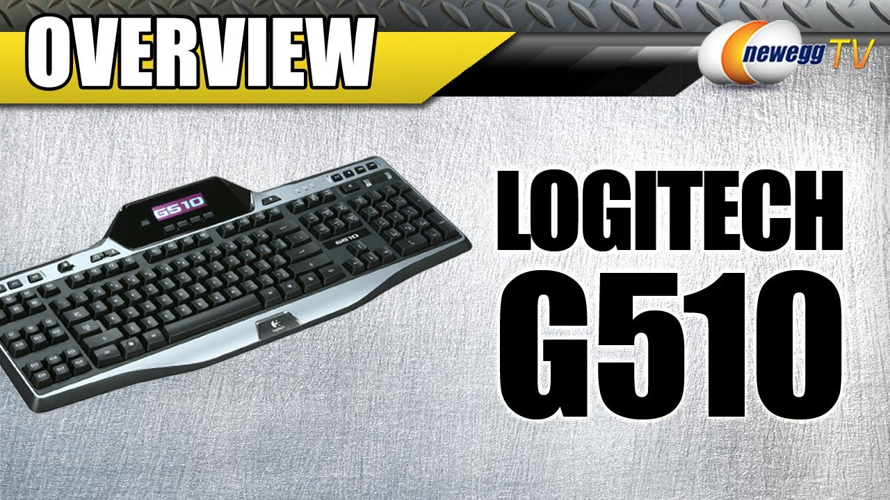 Product Tour: Logitech G510 Black 18 Function Keys USB Wired Game Keyboard
