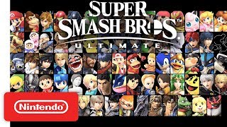 Download Super Smash Bros. Ultimate - Overview Trailer feat. The Announcer - Nintendo Switch Mp3 and Videos