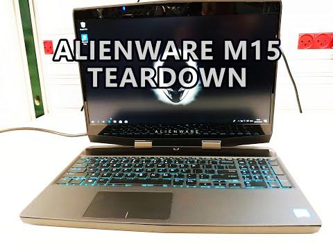 Alienware m15 Unboxing Teardown