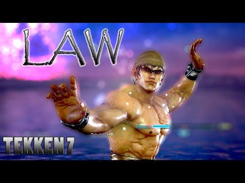 LAW | Tekken 7 | Gameplay |