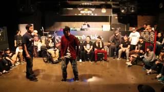 16강 dandy poppin vs c zer hiphop wanted06 1on1 freestyle battle