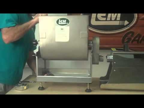 lem products adjusting the meat mixer feet - Meat Mixer