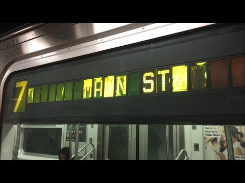 IRT Subway: R188 (7) Local Train Ride From 34th Street-Hudson Yards To Main Street-Flushing