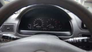 Toyota Corolla e11 р182кн64 приборная панель