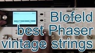 [demo/tutorial] Best Phaser and Vintage Strings (Blofeld)