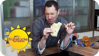 SCHNELLES ESSEN AM BAHNHOF TOP ODER FLOP?: Böse Keime beim Bäcker!| SAT.1 Frühstücksfernsehen | TV