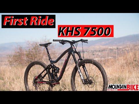First Ride KHS 7500 - Mountain Bike Action Magazine
