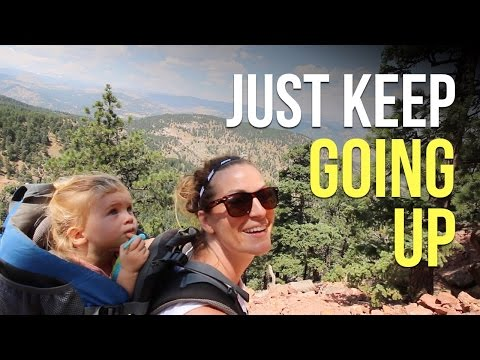 Flatirons in Boulder, Colorado - Our RV Life