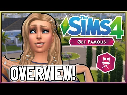 Overall First Impressions! | The Sims 4: Get Famous thumbnail