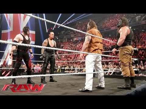 The Undertaker and Demon Kane reemerge to unleash hell upon The Wyatt Family: Raw, November 9, 2015
