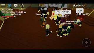 I seen Chad wild clay and vy quaint on the game (ROBLOX)