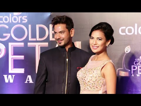 Rochelle Maria Rao & Keith Sequeira together at Golden Petal Awards 2016.