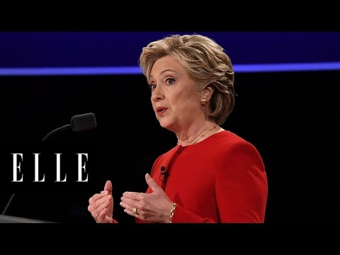 5 Moments Hillary Clinton Took Control of the Debate | ELLE
