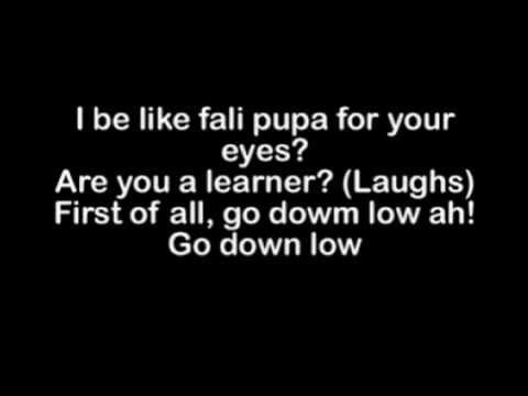Olamide - Go Down Low Lyrics (Official)
