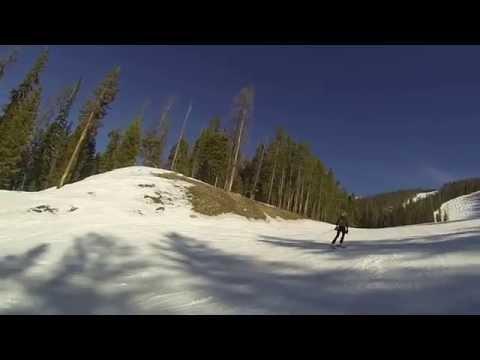GoPro Skiing Breckenridge