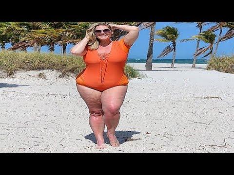 6dd2dfb9cc9 Swimsuit Fashion Haul - Stunning Plus Size Shapewear Bodysuit - YouTube