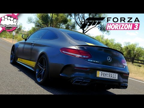 Download FORZA HORIZON 3 #52 - Krawallbruder AMG C63 S Coupe - DWIF - Let's Play Forza Horizon 3 Pics
