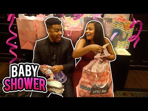 AVA'S BABY SHOWER 👶🏽😍😫  (VERY EMOTIONAL MOMENT)