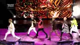Opening Music Bank in Jakarta Teen Top - Miss Right