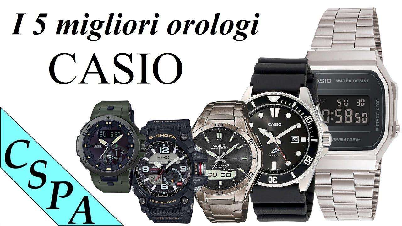 2c7a625bd616 I 5 migliori orologi Casio da acquistare - YouTube