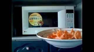 como hacer chicharrones en el horno de microondas