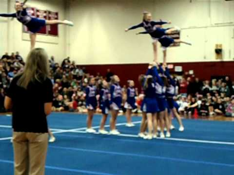Jaffrey Rindge Middle School Cheer Competition