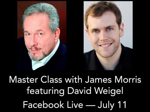 Merola Opera Program - James Morris Master Class with David Weigel
