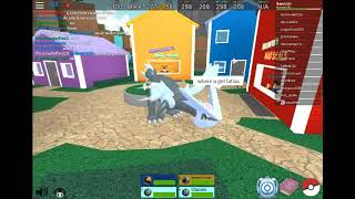 Roblox Pokemon Fighters Ex : Shiny Kyurem + Some More Megas! w/ smurfette119(aka Neo)