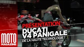 Ducati V4 Panigale -nouveauté moto 2018 - explication technique moteur (EICMA 2017)