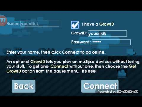 Growtopia#Password and name- (free)