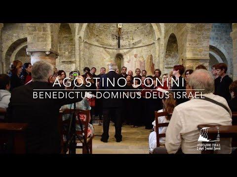 BENEDICTUS DOMINUS DEUS ISRAEL - AGOSTINO DONINI