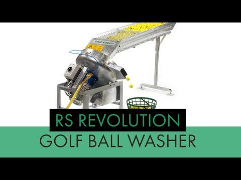 Revolution Golf Ball Washer - Range Servant America