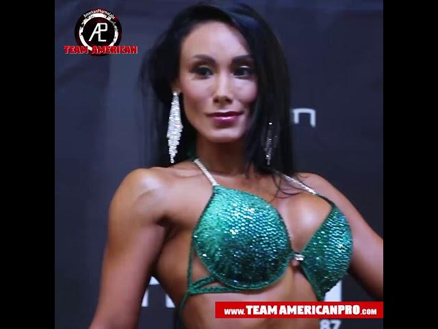 MINNA ALVA - BIKINI FITNESS -TEAM AMERICAN - www.TeamAmericanPro.com