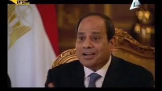 فيديو.. السيسي: تم استغلال قضية ترسيم الحدود لتحريك الرأي العام