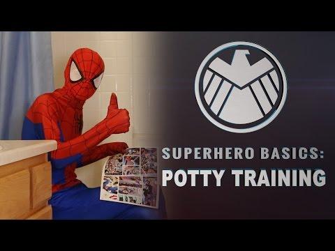 superhero basics potty training