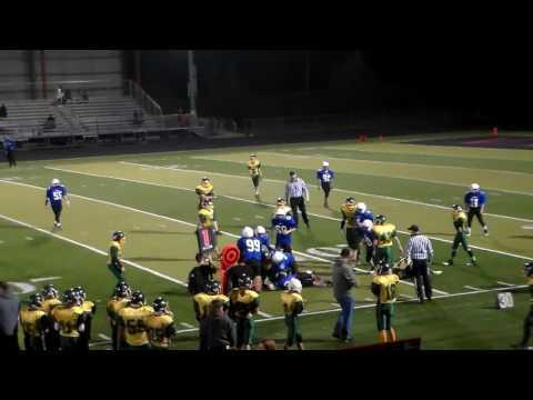 Crossler Middle School vs Houck Middle School Football Game
