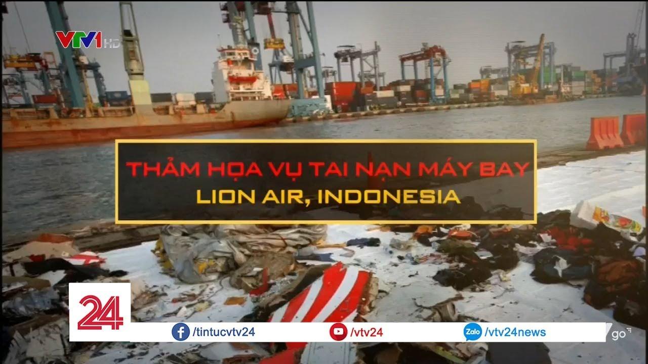 Thảm họa rơi máy bay tại Indonesia | VTV24