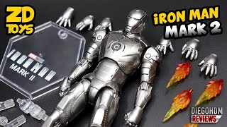 ZD TOYS Iron Man Mark 2 Review BR / DiegoHDM