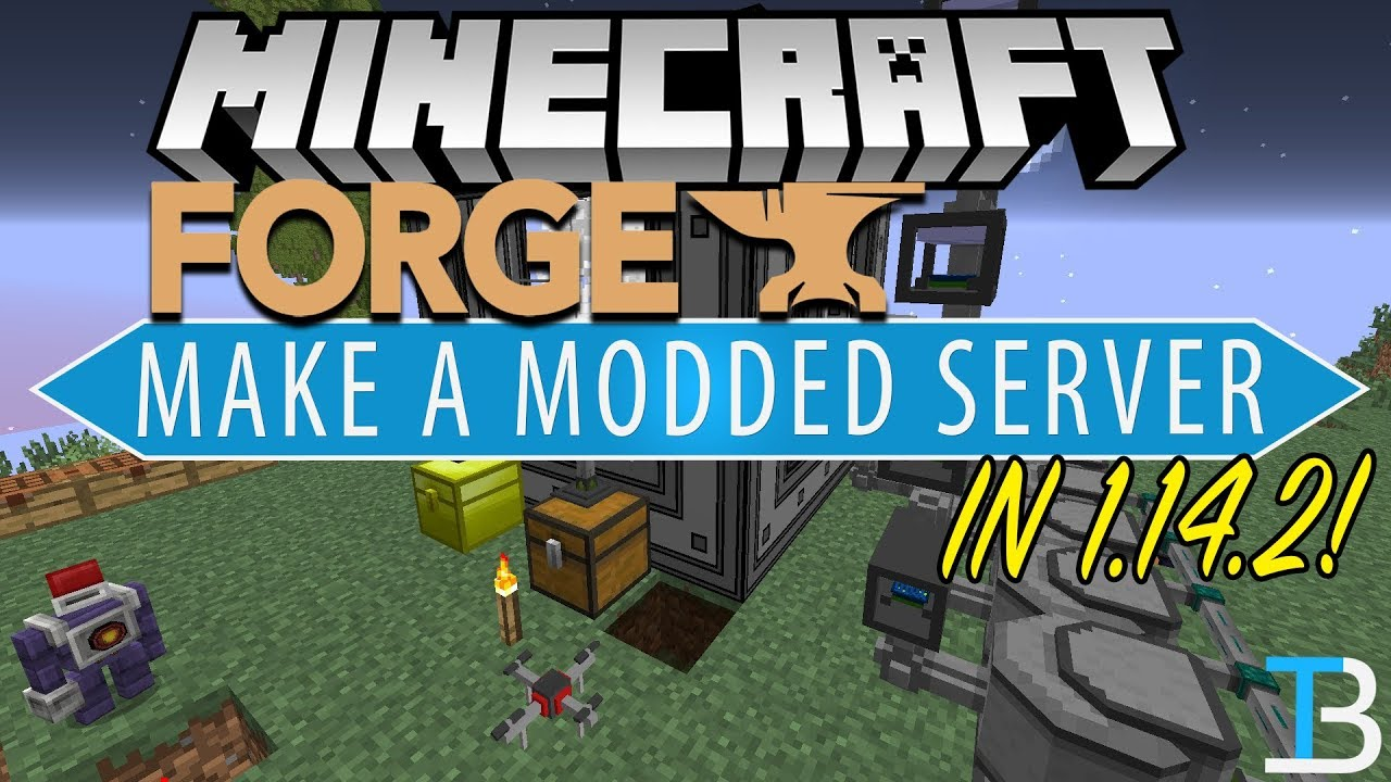 How To Make A Modded Server in Minecraft 1 14 2 (Make A 1 14 2