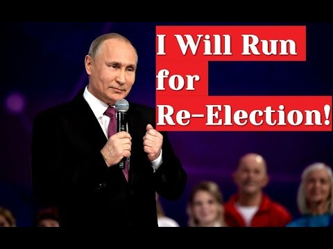 BREAKING: Yes, I will! - Vladimir Putin Announces Run For Re-election in 2018 Presidential Election